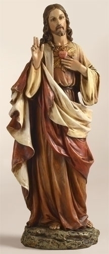 "10.25""Sacred Heart Jesus Fig"