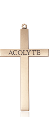 14kt Gold Acolyte Cross Medal