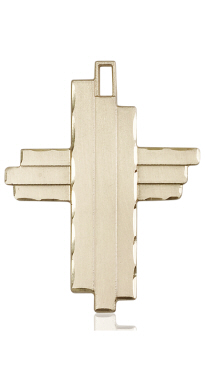 14kt Gold Cross Medal